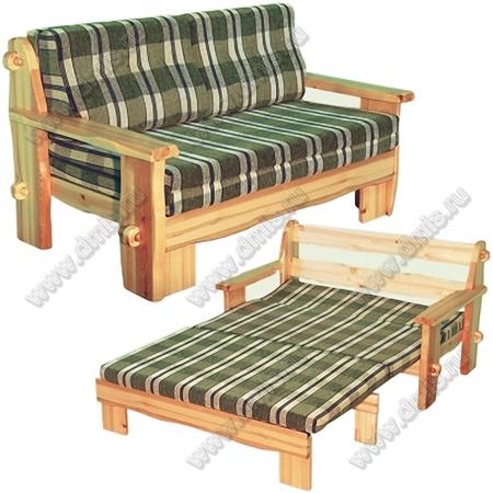 «Скандинавия» - Диван-кровать двухместный (2-я категория)