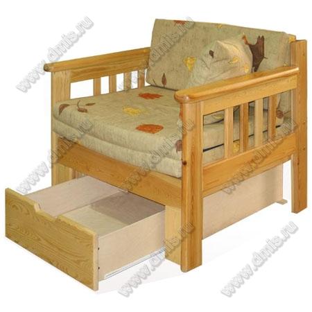 Кресло кровать канада с ящиком арт