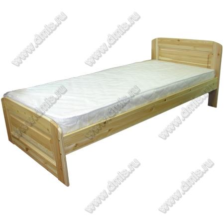 Кровать «Наташа» - 90х200 см (12.10.02)