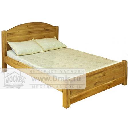 Кровать LMEX 180 PB с низким изножьем - 180х200 см