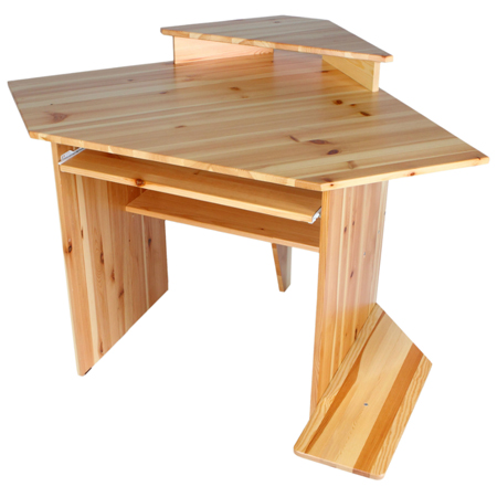 Угловой стол из дерева своими руками