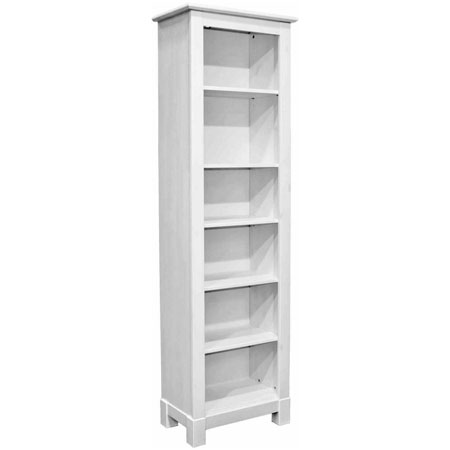 Шкаф для книг «Рауна-00» (белый воск)