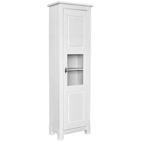 Шкаф для посуды «Рауна-10» (белый воск)