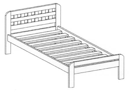 Кровать «Барселона» (Арт. КР-231)